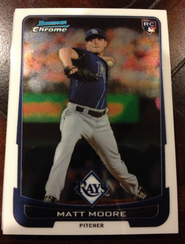 2012 Bowman Chrome Draft Tampa Bay Rays Team Set 10 Cards