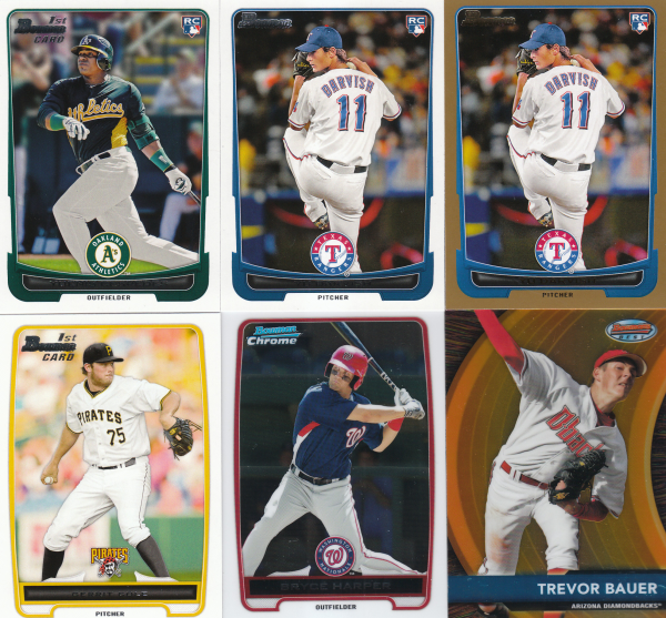 2012 Bowman Baseball 710 Card Master Set