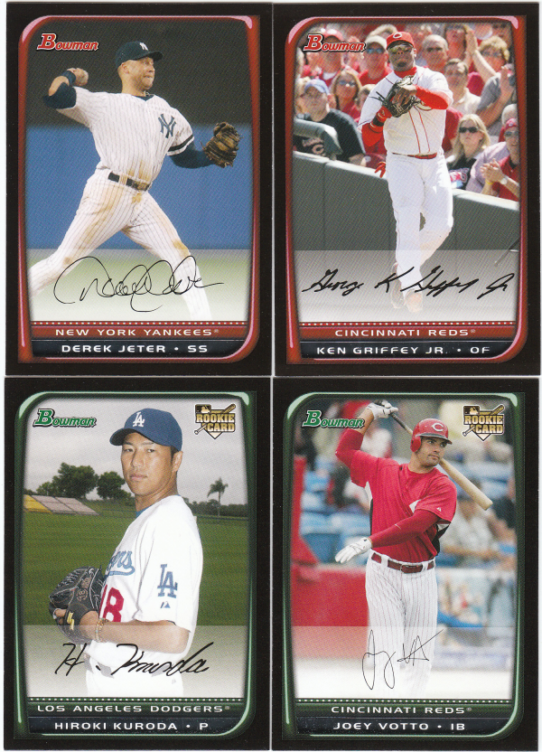 2008 Bowman Baseball Base Set-220 Cards