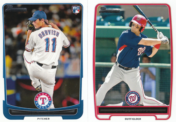 2012 Bowman & Prospects Baseball Set-330 Cards