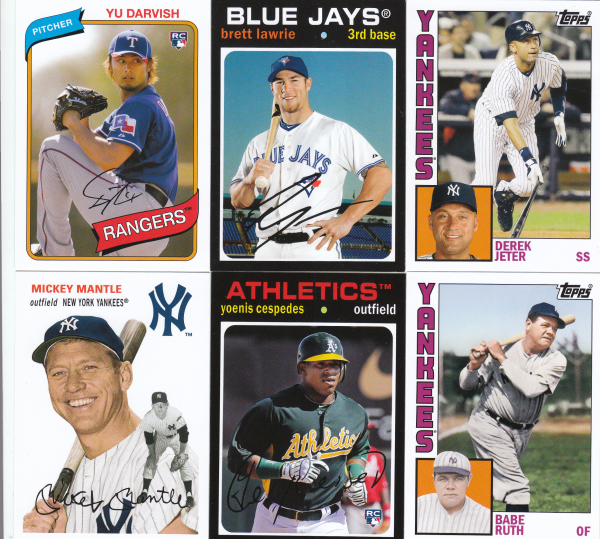 2012 Topps Archives Baseball Base Set-200 Cards