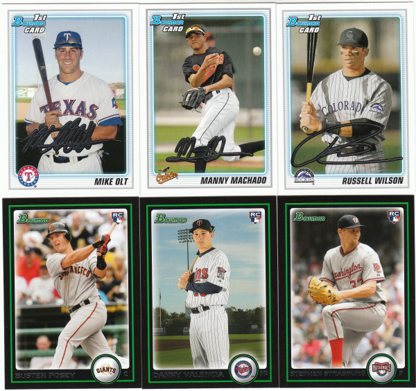 2010 Bowman Draft & Prospects Baseball Set-220 Cards