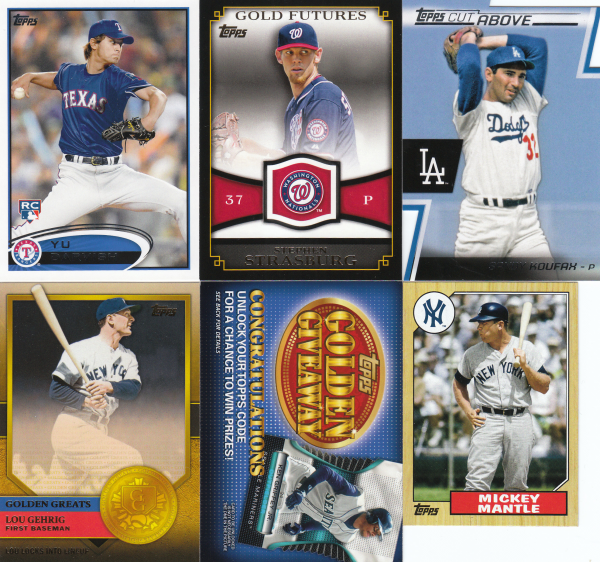 2012 Topps Master Baseball Set-1161 Cards