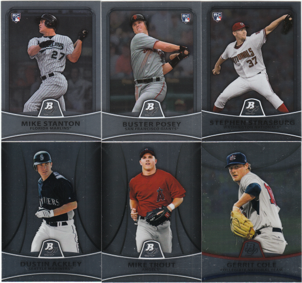 2010 Bowman Platinum & Prospects Baseball Set-150 cards