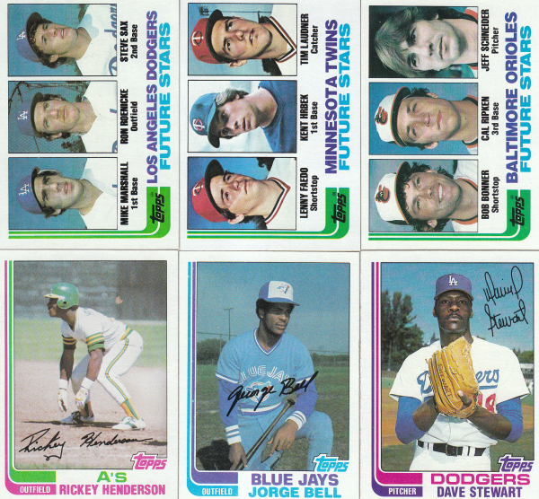 1982 Topps Baseball Hand Collated Set-792 Cards