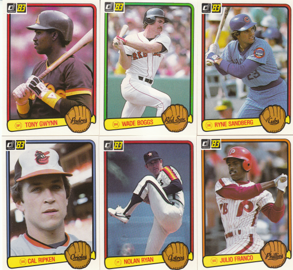 1983 Donruss Baseball Hand Collated Set-660 Cards