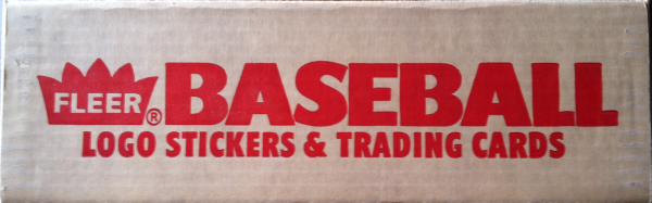 1986 Fleer Baseball Factory Set-660 Cards