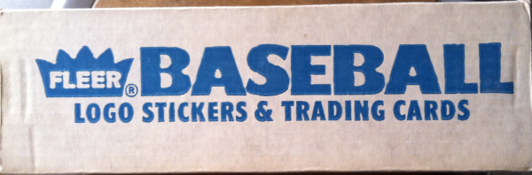 1987 Fleer Baseball Factory Set-672 Cards