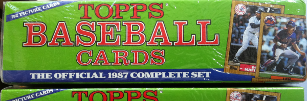 1987 Topps Baseball Factory Set-792 Cards