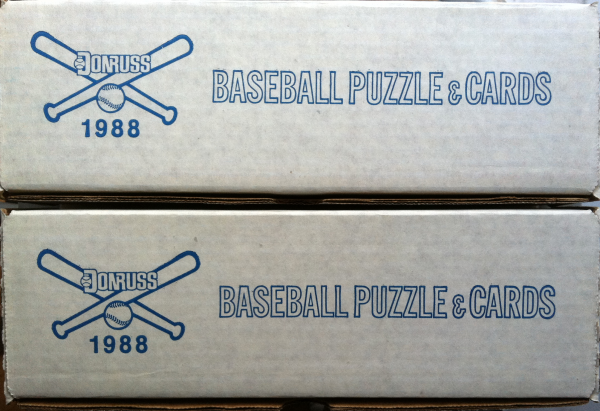 1988 Donruss Baseball Factory Set-660 Cards