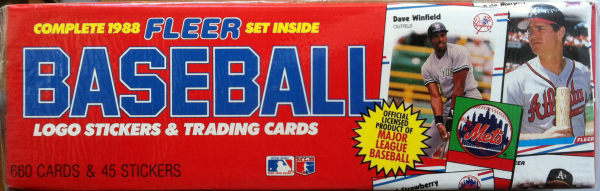 1988 Fleer Baseball Retail Factory Set-660 Cards