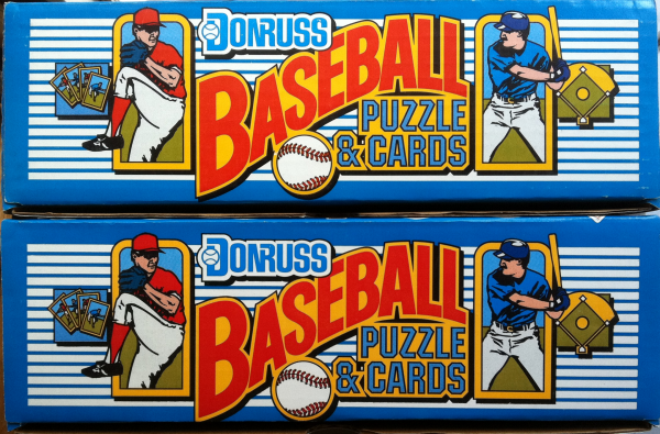 1989 Donruss Baseball Factory Set-672 Cards