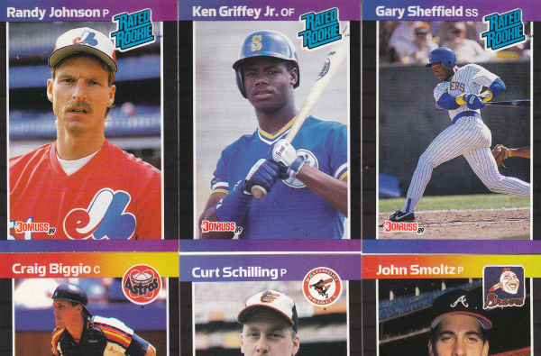 1989 Donruss Baseball Hand Collated Set - 660 Cards