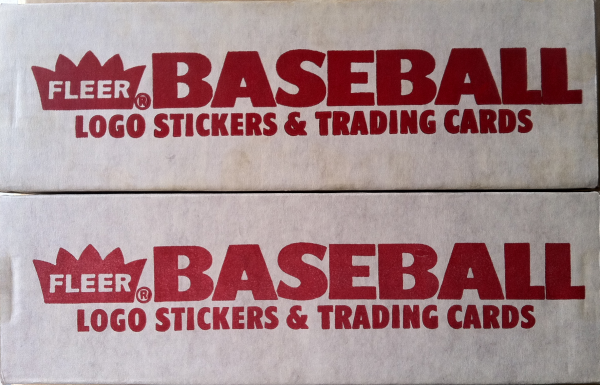1989 Fleer Baseball Factory Set-672 Cards