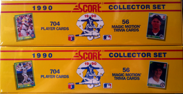 1990 Score Baseball Retail Factory Set-704 Cards