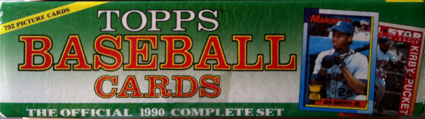 1990 Topps Baseball Christmas Factory Set-792 Cards