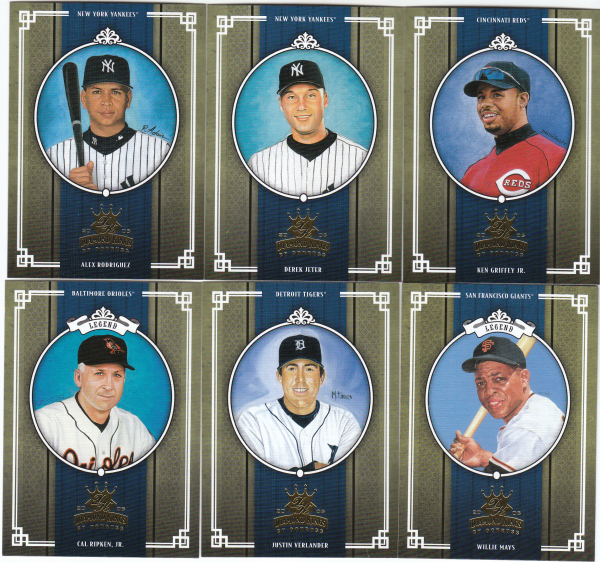 2005 Donruss Diamond Kings Baseball Set-450 cards