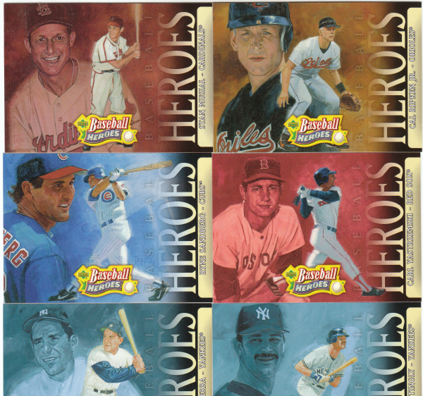 2005 Upper Deck Baseball Heroes Set-100 Cards