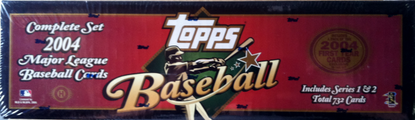 2004 Topps Baseball Factory Set - 732 Cards