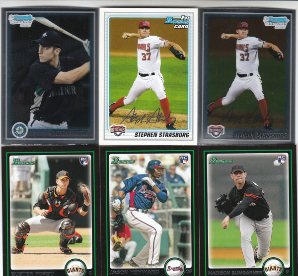 2010 Bowman & Chrome Prospects Baseball Set - 440 Cards