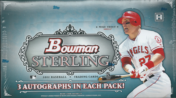 2012 Bowman STERLING Baseball Hobby Box