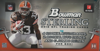 2012 BOWMAN STERLING Football Hobby Box front image