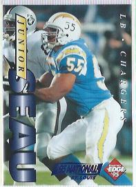 1995 Collector's Edge Junior Seau Promos St. Louis National #1