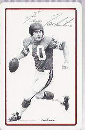 Oddball Fran Tarkenton Playing Card