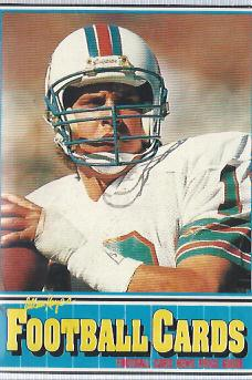 1990 Football Card News #4 Dan Marino
