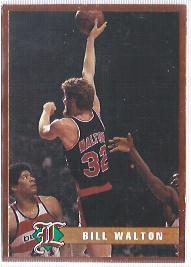 1993 Legends Sports #34 Bill Walton