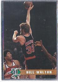 1993 Legends Sports Silver #34 Bill Walton