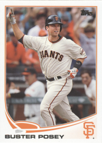 2013 Topps I MLB Giants Team Set (18 Cards)