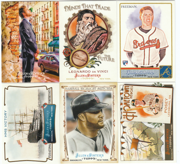 2011 Topps Allen & Ginter Baseball Hand Collated Set - 561 Cards
