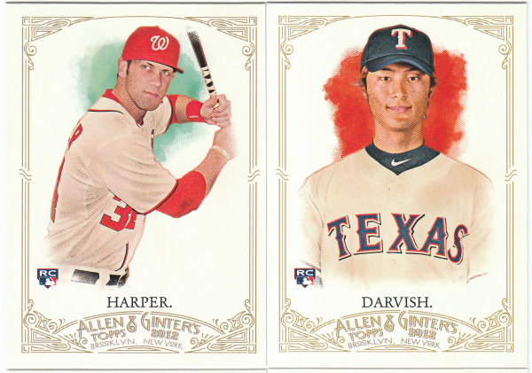 2012 Topps Allen & Ginter Baseball Hand Collated Set - 350 Cards