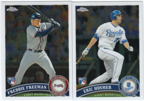 2011 Topps Chrome Baseball Hand Collated Set - 220 Cards