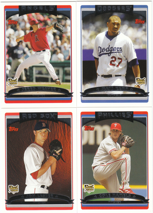 2006 Topps Update & Highlights Baseball Hand Collated Set - 330 Cards