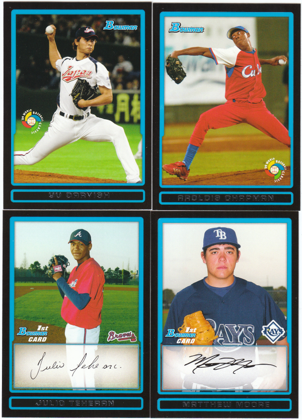 2009 Bowman Prospects & World Baseball Set - 110 Cards