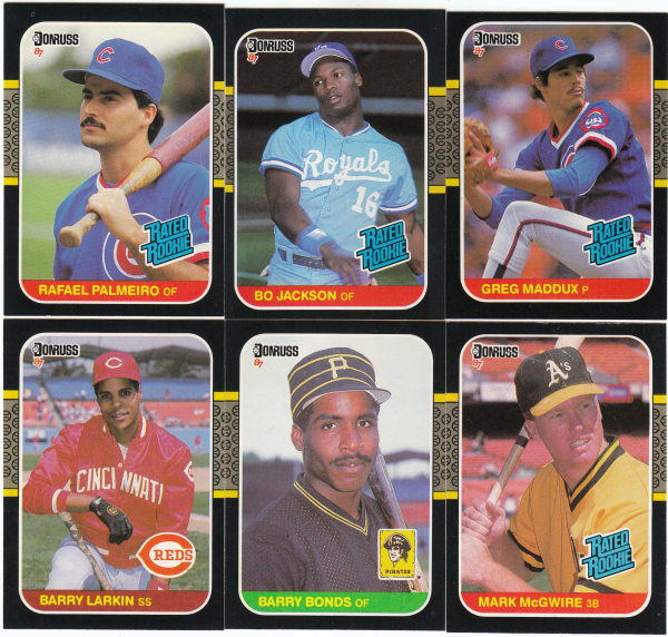 1987 Donruss Baseball Hand Collated Set - 660 Cards