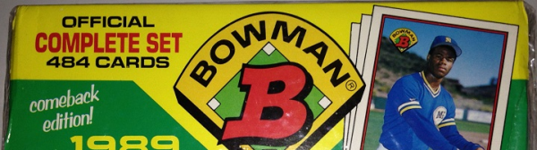 1989 Bowman Baseball Factory Set - 484 Cards