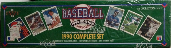 1990 Upper Deck Baseball Factory Set - 800 Cards