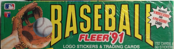 1991 Fleer Baseball Factory Set - 732 Cards