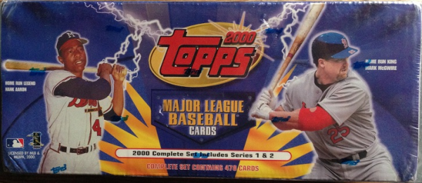 2000 Topps Baseball Factory Set - 478 cards