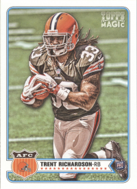 2012 Topps Magic Browns Team Set (5 Cards)
