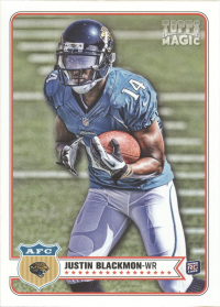 2012 Topps Magic Jaguars Team Set (5 Cards)