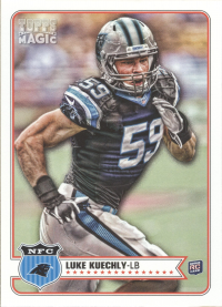 2012 Topps Magic Panthers Team Set (6 Cards)