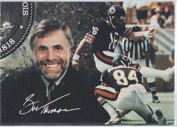1994 Chicago Bears Bob Thomas Appellate Court Justice