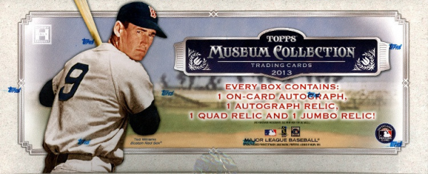 2013 Topps MUSEUM Baseball HOBBY Box