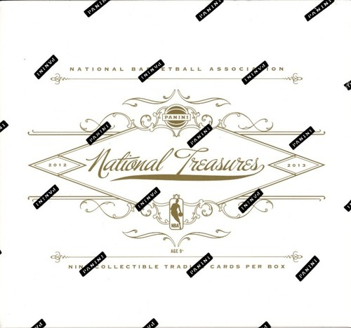 2012-13 ( 2013 ) Panini NATIONAL TREASURES Basketball HOBBY Box