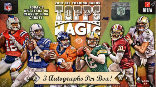 2013 Topps MAGIC Football HOBBY Box