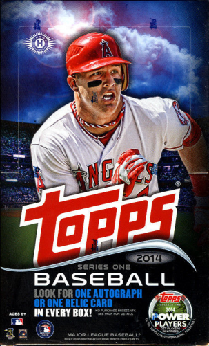 2014 Topps Baseball Series 1 HOBBY Box